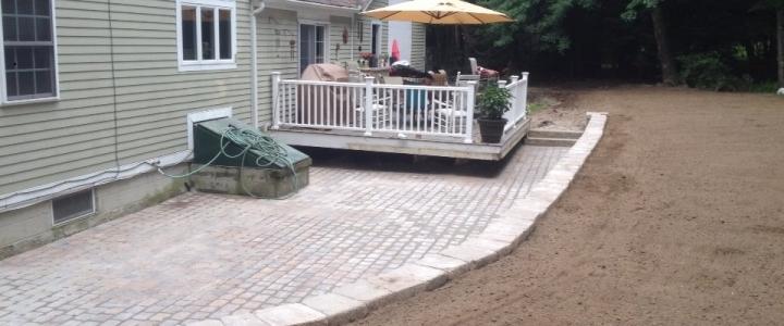 Patio, Walkway and Wall Install