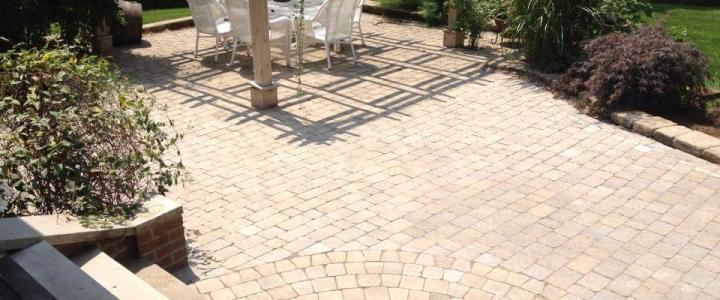 Steps, Patio, Walkway, Planting